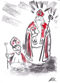 Illustration vom Nikolaus